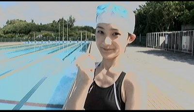 競泳桃ち。