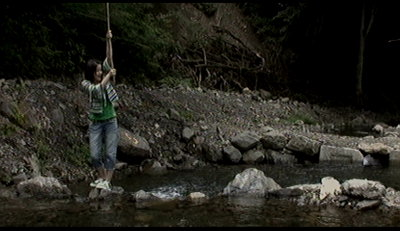 釣り上げるミッツィ~。