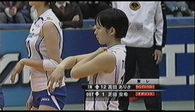 高田ありさ。