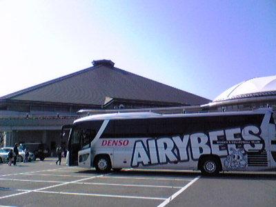 岡崎市総合体育館。