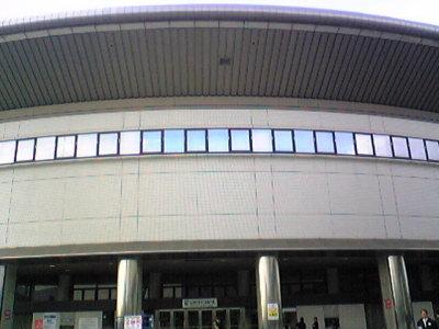 日本ガイシホール。