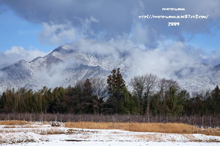 雪の風越山1