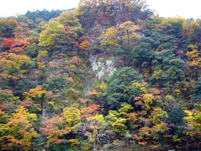 紅葉の鼓嶽
