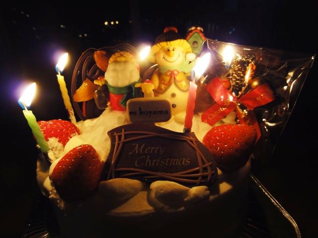 コヤマクリスマスケーキ
