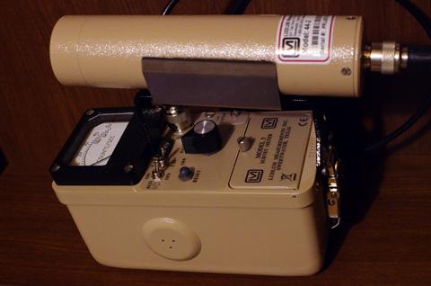 NaI(Tl) scintillation survey meter 001