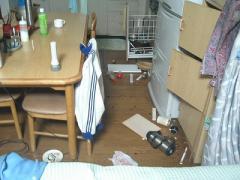 地震④ キッチン
