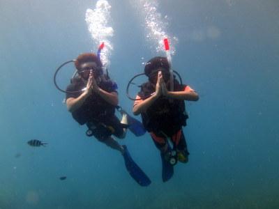 タオ島 ダイビング アドバンス講習2