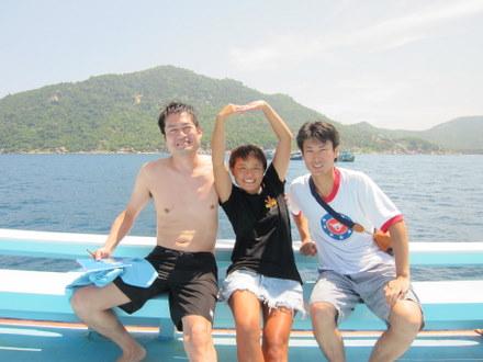 タオ島 ダイビング オカザキ・ニシゴオリ