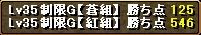 RED STONE2回戦目ポイント結果