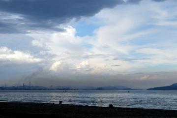 鞆の浦の空