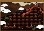 新ステージ「魔道火山」マップ