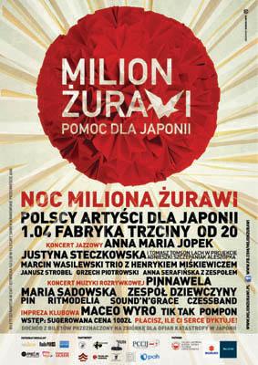 Milion Zurawy Plakat