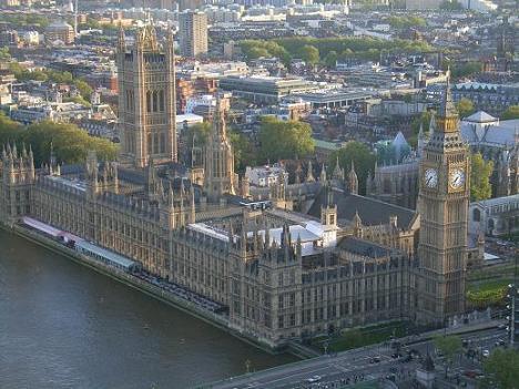 09ロンドンアイからの国会議事堂