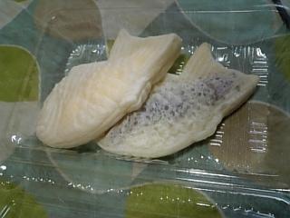 欧米からやってきた、白い鯛焼き