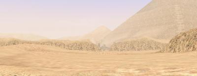 砂の嵐にかくされた・・・