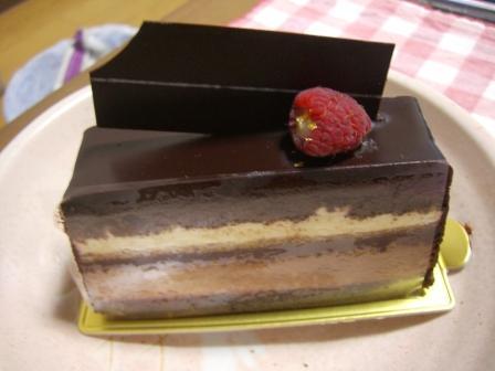 201006チョコケーキ