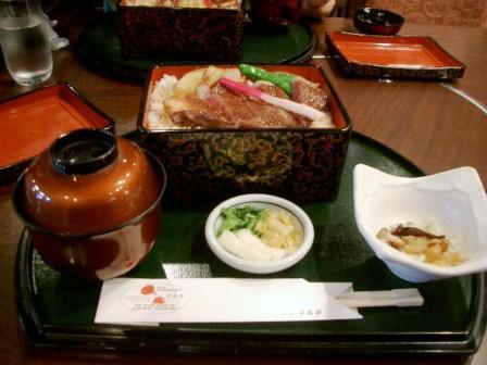 201019ステーキ丼セット