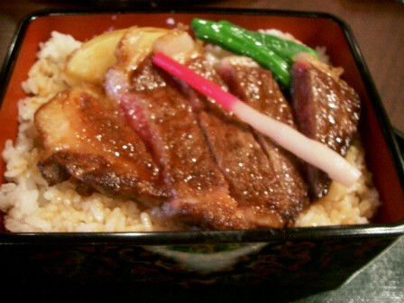 201019ステーキ丼