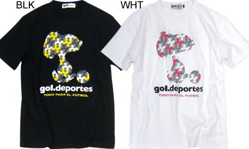 gol.×PEANUTS/ゴル×ピーナッツ カモフラTシャツ