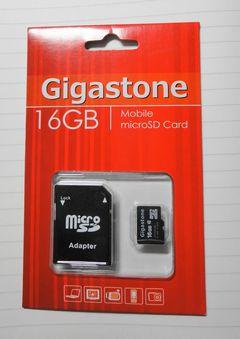 microSD 16GB!