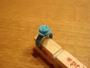 ローズリング(ブルー)