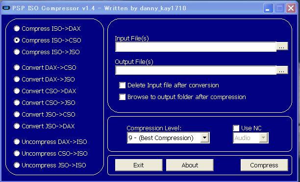 ISO圧縮