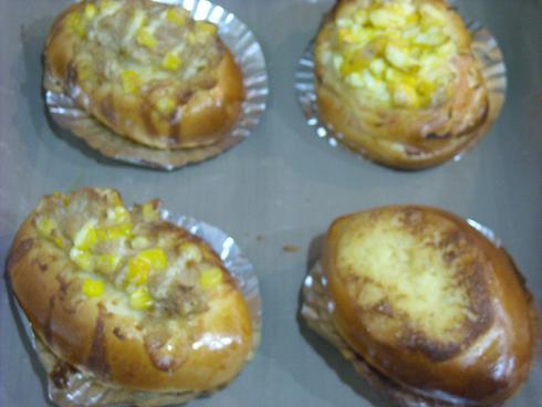 初焼きパン1