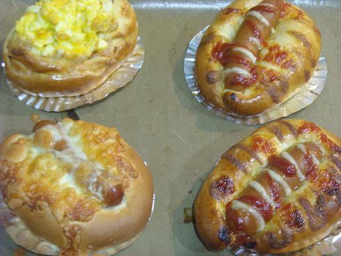 初焼きパン2