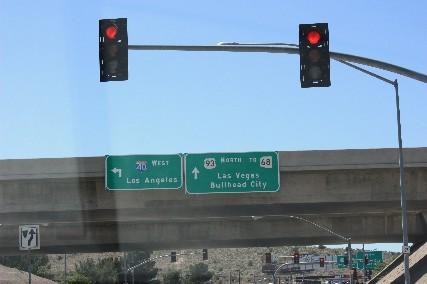 キングマンからラスベガスへ