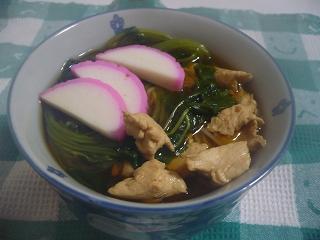 ササミとのにゅう麺