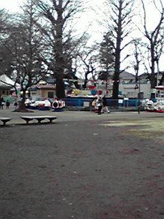 自然文化園の遊園地