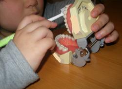 歯磨き練習3