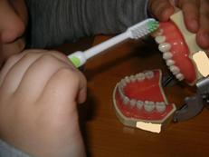 歯磨き練習1