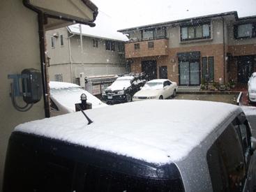 優花雪景色
