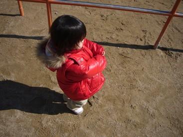優花公園でボール遊び2