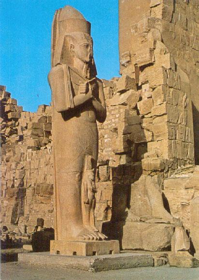 Statue of Pharao Pinutem