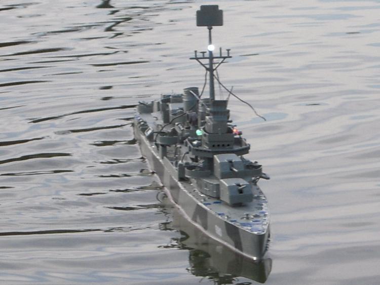 ... 演習? 防空l駆逐艦秋月の場合