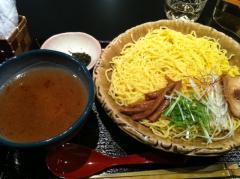銀笹つけ麺白醤油大盛り110210