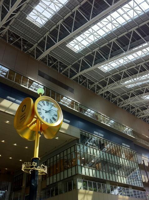 大阪ステーションシティ 時の広場金時計