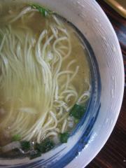 麺家 静【参八】 ~清湯スープの「中華しお」~-5
