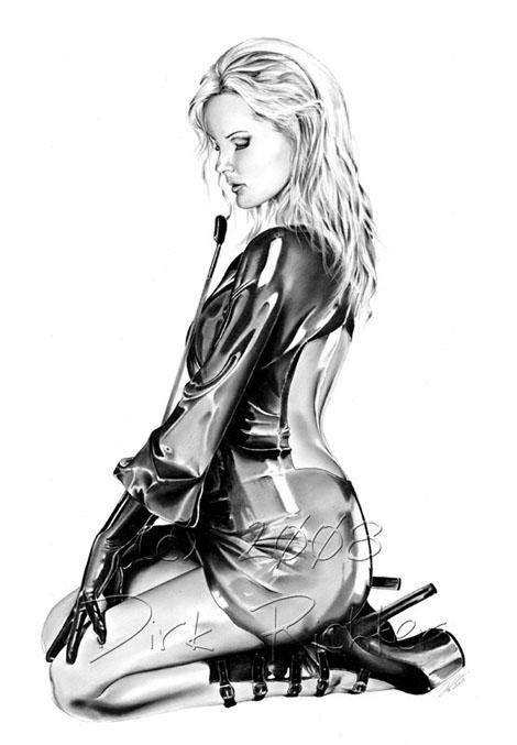 イラストでSexyな美女を描く - Dirk Richter