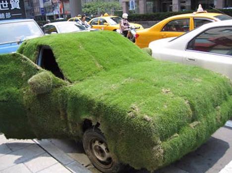 グリーンとか藻でペインティングされた写真いろいろ