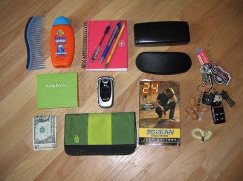 カバンやポケットの中身ばかりを集めたFlickr