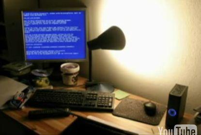 見るも無残なWindowsクラッシュシーンのスライドショ~
