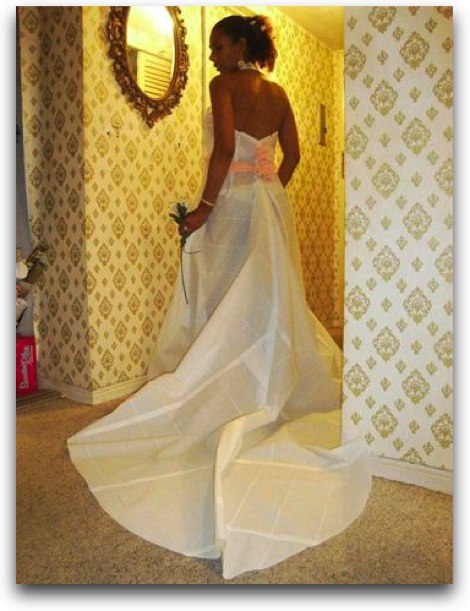 Toilet Paper Wedding Dress - The biggest collection of pictures and photos on the internet at Best Pics Around