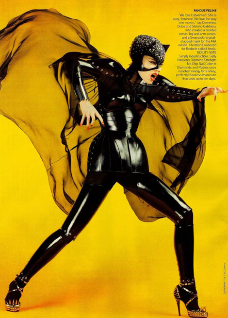 ニューヨークのSuperhero Costume展示会