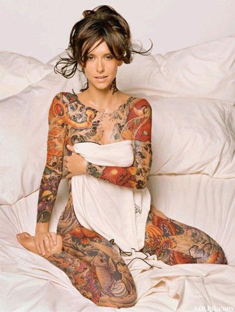 Tattooのように美しいボディペイントいろいろ