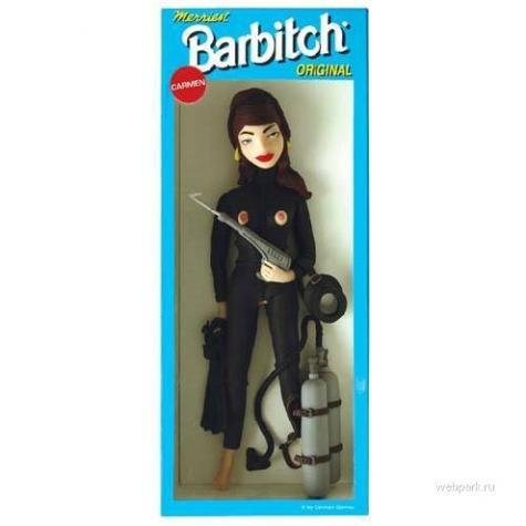 フェティッシュバービー人形「バービッチ」