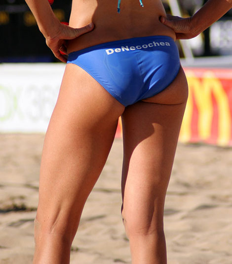 The Sexy Ass of Beach Volleyball