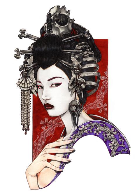 芸者プロジェクト - Zoe Lacchei